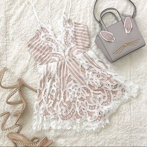 The Tamia Lace Playsuit